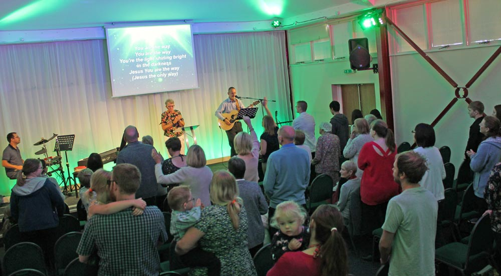 south lincs church sunday service